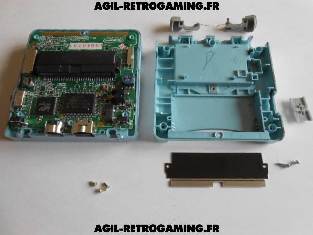 Démontage console Game Boy Advance SP