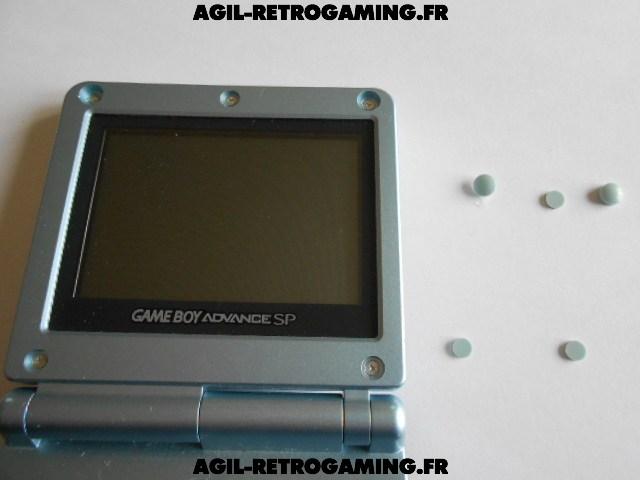 Démontage écran GBA SP