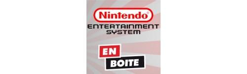 Jeux NES en boite