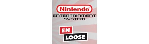 Jeux NES en loose