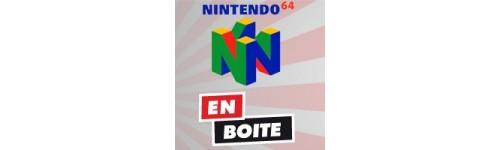 Jeux N64 en boite et notice